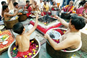 market and yagya