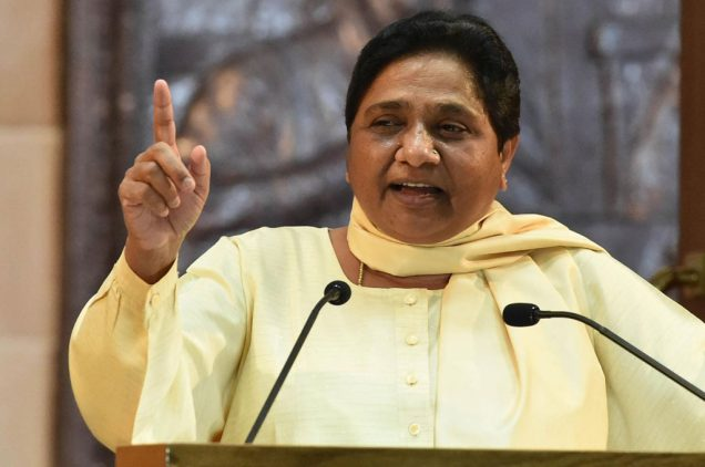 question on credit of mayawati