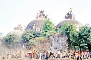 bjp and ayodhya issue